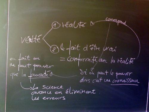 La v rit tableau de r vision site de fran ois jourde for Tableau de verite