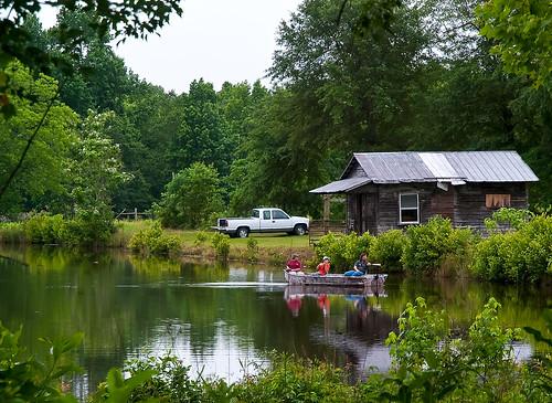 truck boat fishing cabin southcarolina pickup explore blackville