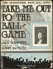 Take Me Out to the Ball-Game  [Front cover]