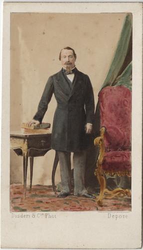 Napoleon III Carte De Visite By Andre Adolphe Eugene Disderi