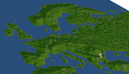 Cartography using computer games to display gis data geographic image gumiabroncs Image collections