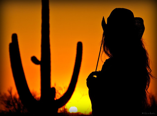 Me - Desert Sunset Shoot by Chris Austin