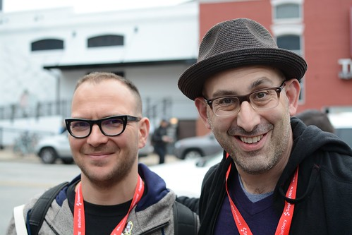 Cory Doctorow and Geoff Livingston by Geoff Livingston