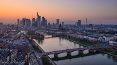 Frankfurt - Sunset Mood - Nikon D800E