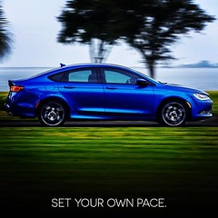 Stretch your power further in the All-New 2015 #Chrysler200. - photo from chryslerautos