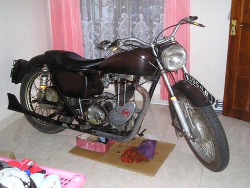 MATCHLESS G3L 350CC 1956