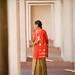Woman in Hallway by OneEighteen