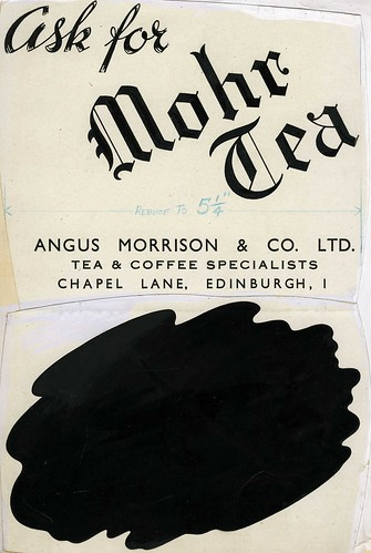 Advert for Angus Morrison & Co Tea and Coffee merchants