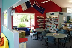 Akaroa Library interior