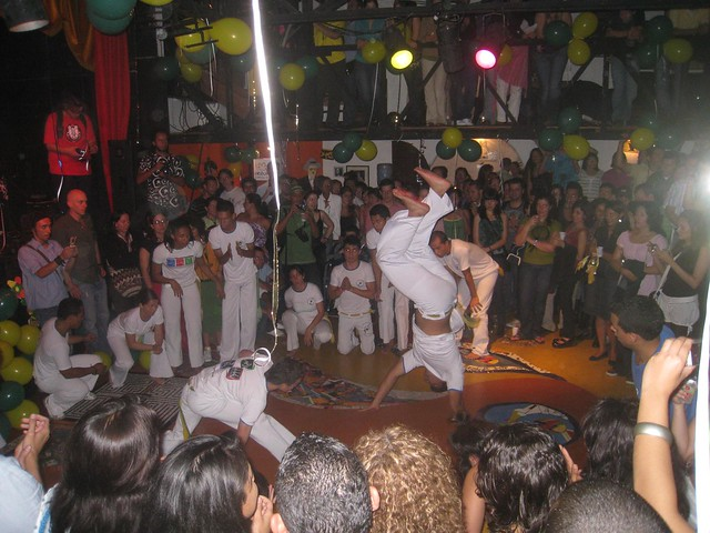 Capoeira - the Brazilian mix of martial arts and dancing