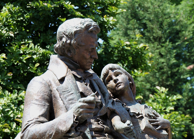 Thomas Hopkins Gallaudet And Alice Cogswell Detail Of