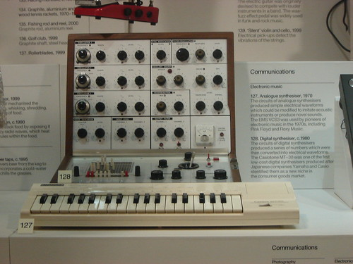 modular synth EMS VCS3 & Casiotone MT-30 @ london science museum by eplay303
