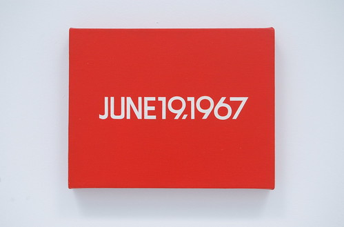 """On Kawara, June 19, 1967 from Today Series, No. 108, 1966 - """"Black Power in the United States"""", 1967"""