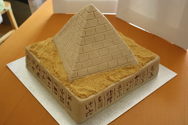 Egyptian Mummy Birthday Cake