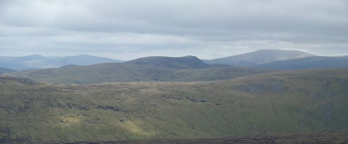 Beinn A'Ghlo and Carn a' Chlamain