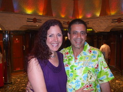 Aboard the Carnival Liberty