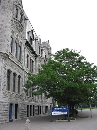 A photograph of Lisgar Collegiate Institute