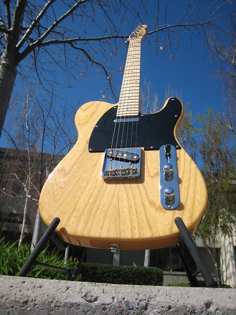 Photo:Fender Telecaster Lite Ash By Ethan Prater