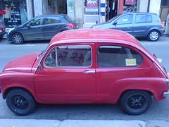 automobile(1.0), vehicle(1.0), fiat 600(1.0), subcompact car(1.0), city car(1.0), compact car(1.0), zastava 750(1.0), land vehicle(1.0), coupã©(1.0),
