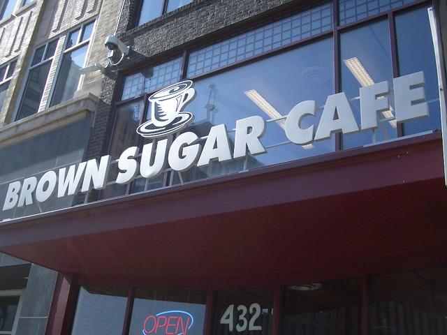 Brown Sugar Cafe, Saginaw Street, Downtown Flint Michigan