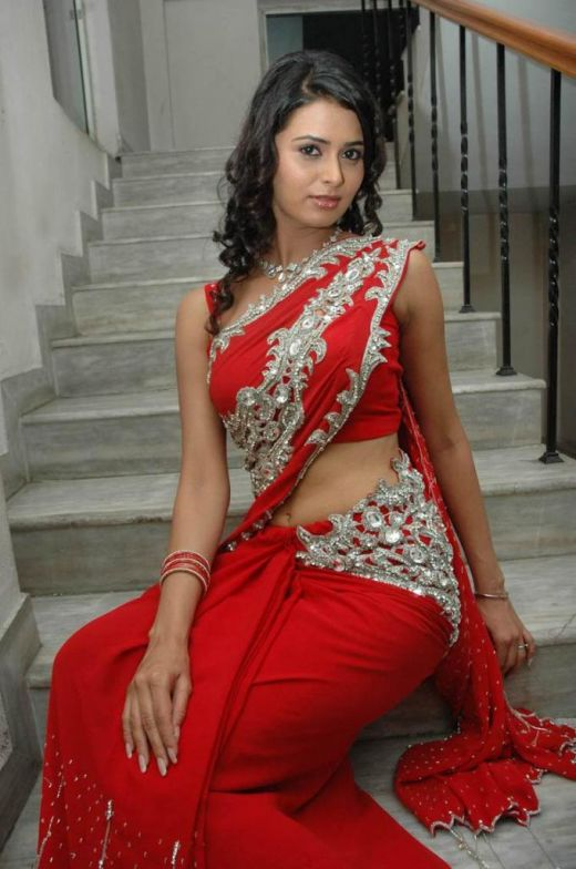 Hot Indian Woman In Red Saree - A Photo On Flickriver-8525