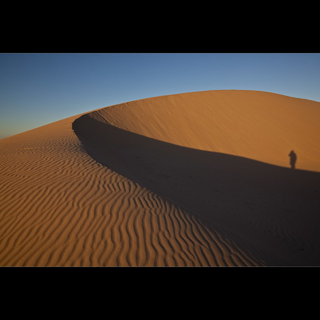 Standing on the Dune - Mungo NP