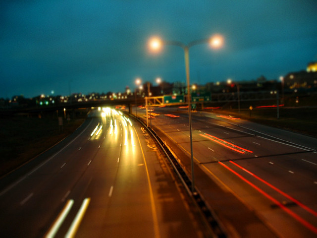 Nighttime Rush - Flickr CC illuminated_photography