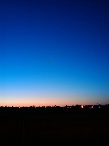 morning moon star