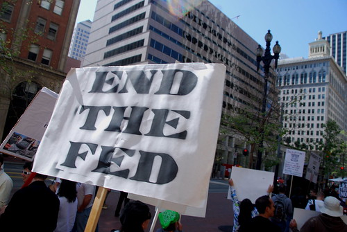 End the Fed march - 14