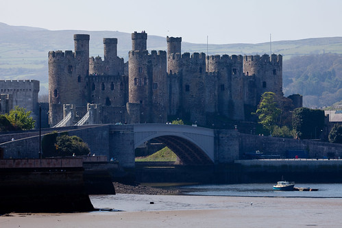 Conwy castle - flckr - alh1