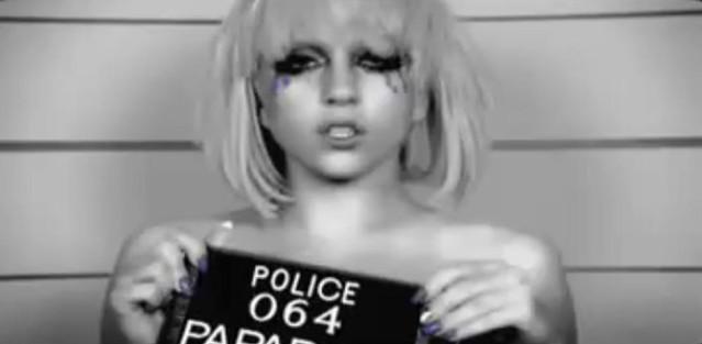 Lady Gaga's Mugshot