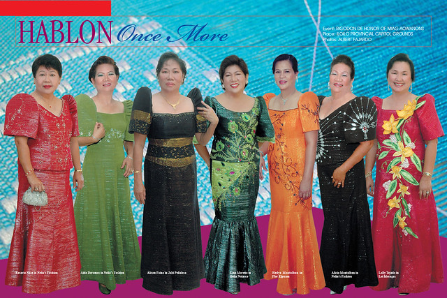 Filipiniana Terno Dress http://www.flickr.com/photos/creamdelacrememagazine/3614072046/