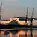 Sunset at ExCel Centre by Katy/BlueyBirdy