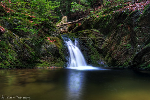 fall nature water composite ma outdoors waterfall russell view massachusetts waterfalls hdr noble