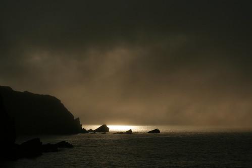 sea sky cloud sunlight water rocks ominous horizon hopeful northdevon lynton leeabbey sooc vrog wixizinterestingnesscontest