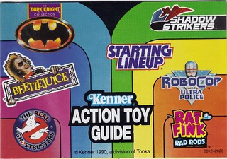 1990 Kenner Action Toy Guide B