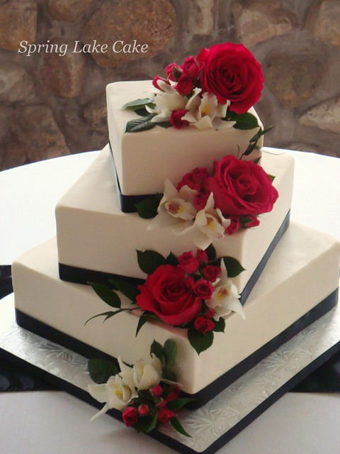 Floral cascade wedding cake Flickr - Photo Sharing!