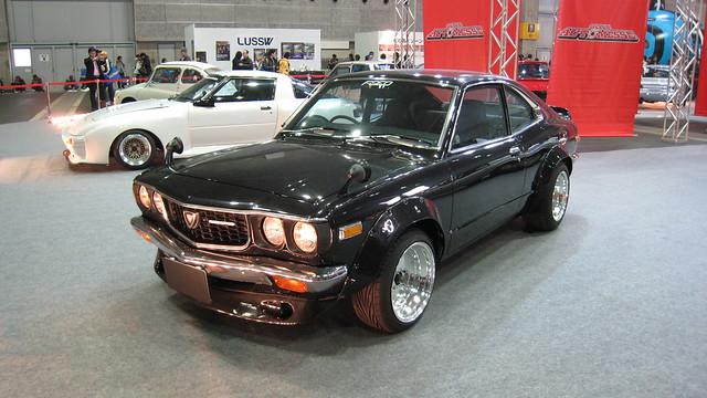 Mazdas at Osaka Automesse 2009