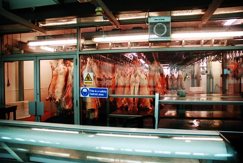 Carcasses, Smithfield Market, London