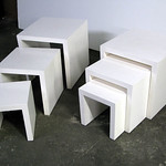 Nesting Tables, table rental Display Shop New York