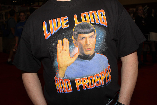 Live Long and Prosper Shirt
