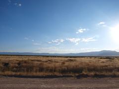 Más desierto...