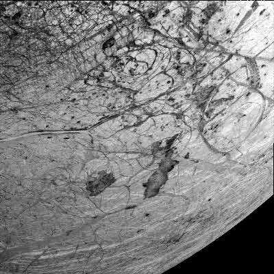 Thera and Thrace Macula on Europa