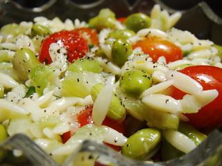 Lemongrass Orzo Salad