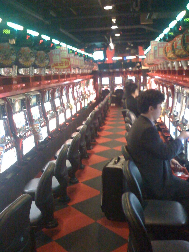 Shibuya gambling hall