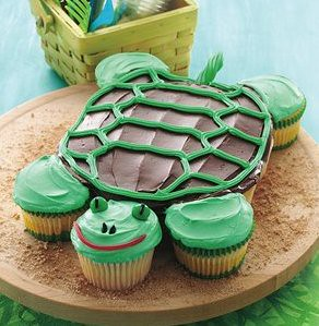 Pull Apart Turtle Cupcakes Recipe Flickr Photo Sharing