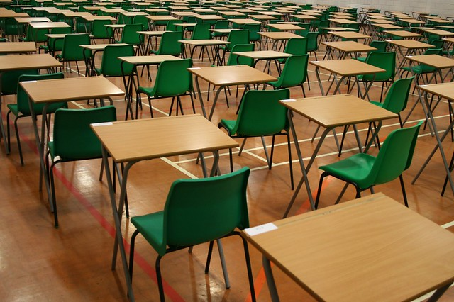 Classroom desks - Flickr CC comedynose