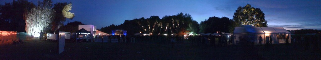10. Immergut Festival Neustrelitz 2009 Panorama