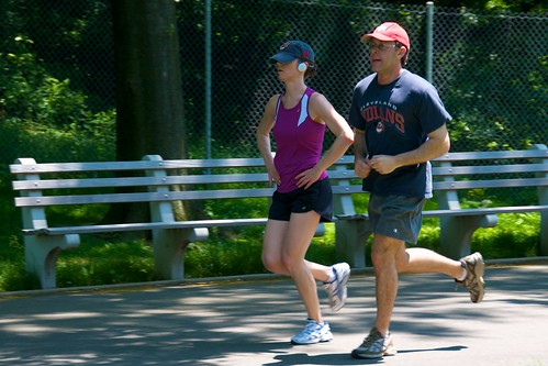 Photo:Jogging couple By:Ed Yourdon