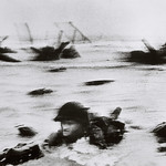 D-Day: June 6, 1944: Allied Invasion of Normandy [photo by Robert Capa]